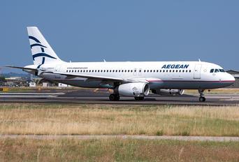 SX-DGL - Aegean Airlines Airbus A320