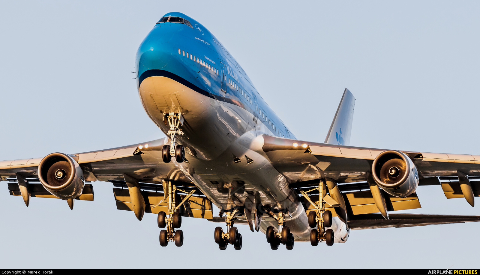 KLM PH-BFY aircraft at Amsterdam - Schiphol