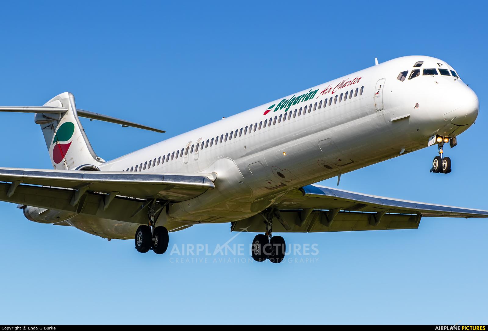 Bulgarian Air Charter LZ-LDP aircraft at Manchester