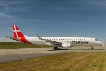 OY-GDA - Great Dane Airlines Embraer ERJ-195 (190-200)
