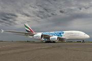 A6-EOS - - Aviation Glamour Airbus A380 aircraft