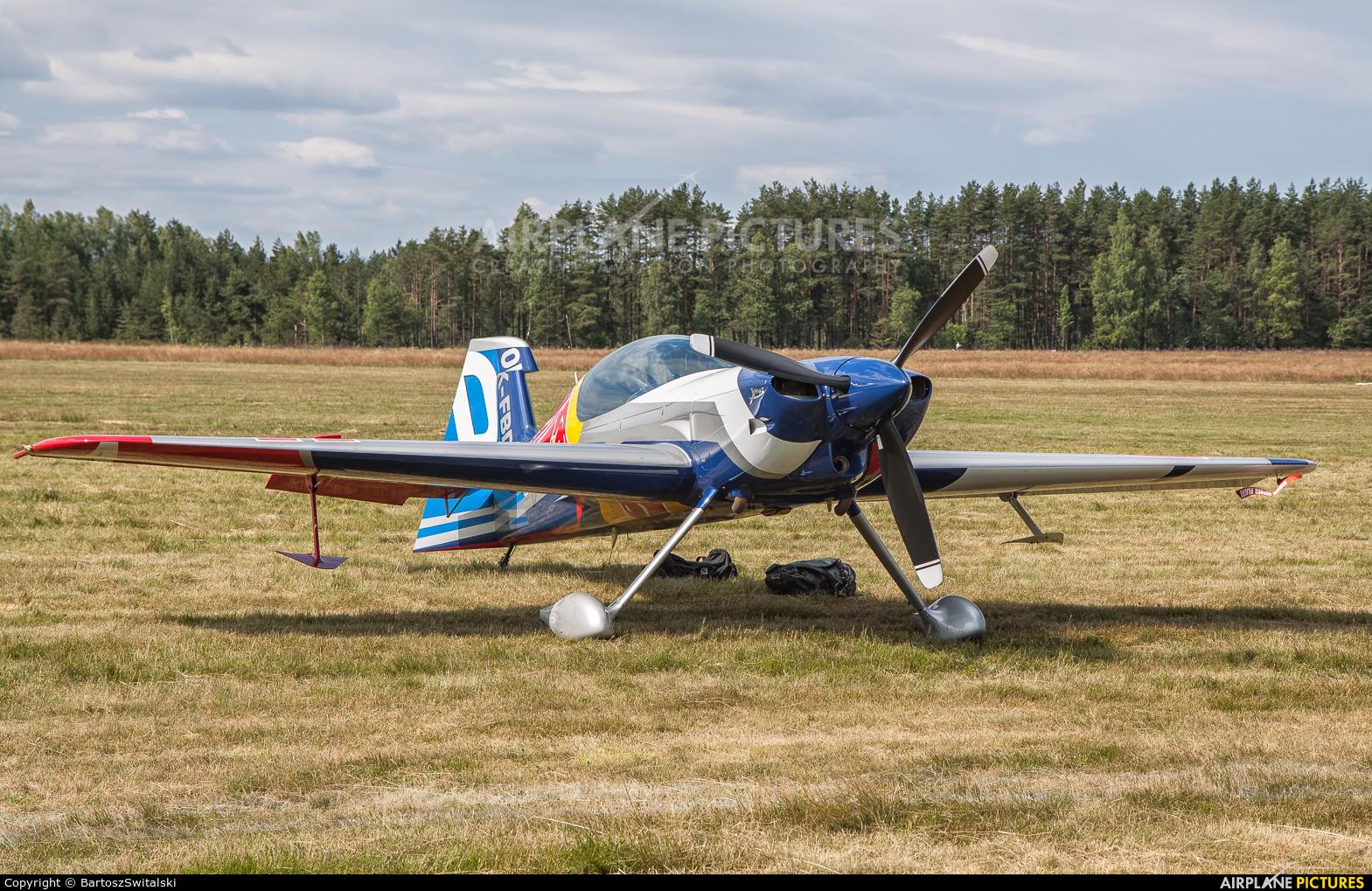 The Flying Bulls Duo : Aerobatics Team OK-FBD aircraft at Nowy Targ