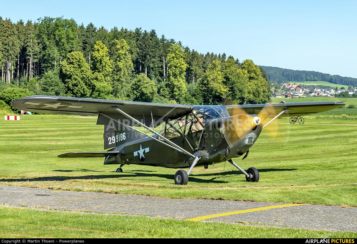 Commemorative Air Force, Swiss-Wing N121MC aircraft at Luzern-Beromünster