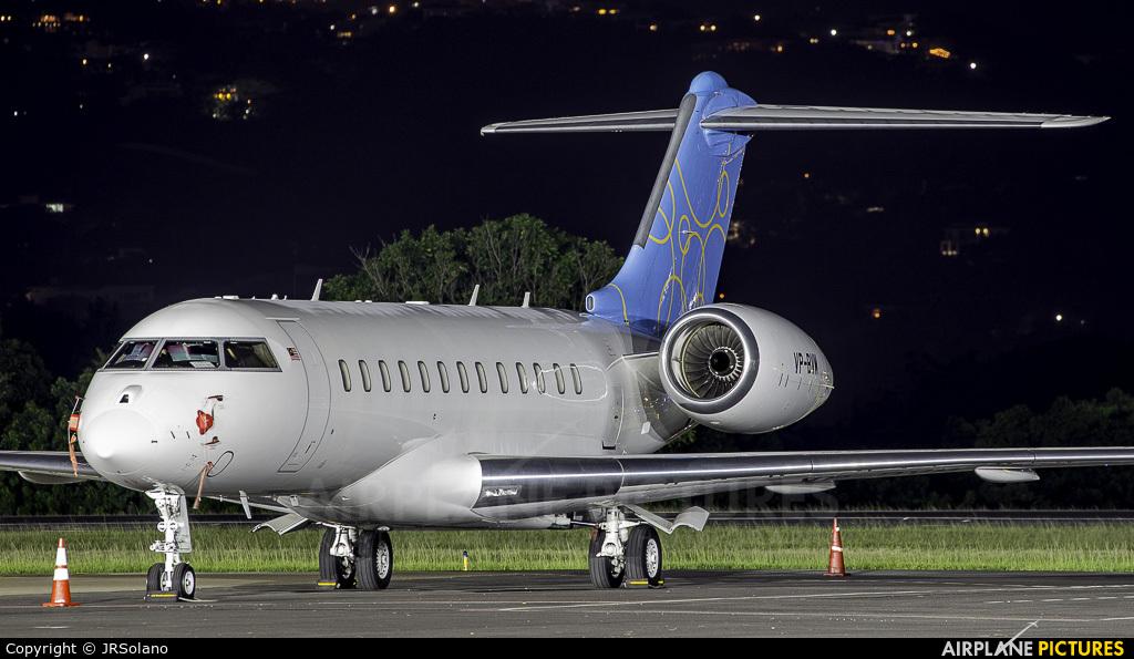 Private VP-BVM aircraft at San Jose - Juan Santamaría Intl
