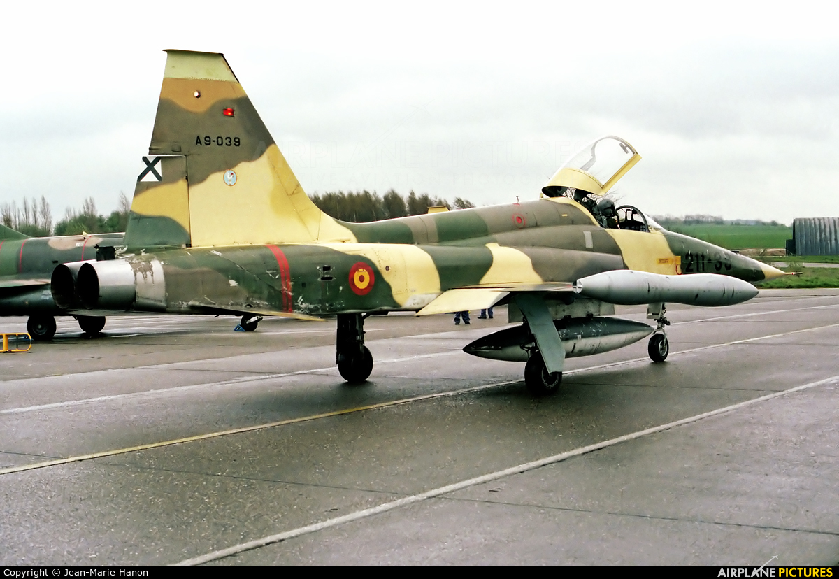 Spain - Air Force A.9-039 aircraft at Liège-Bierset