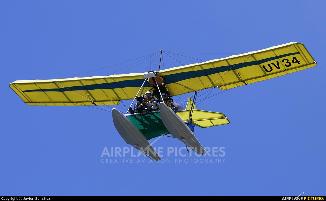 Private UV-34 aircraft at Biscarrosse - Parentis