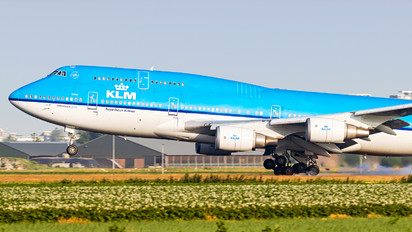 PH-BFL - KLM Boeing 747-400