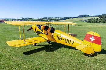 HB-UUV - Private Bücker Bü.131 Jungmann