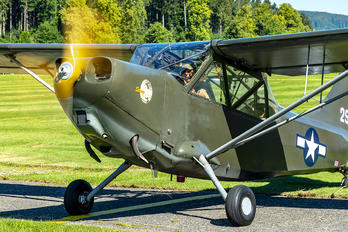 N121MC - Commemorative Air Force, Swiss-Wing Stinson L-5 Sentinel