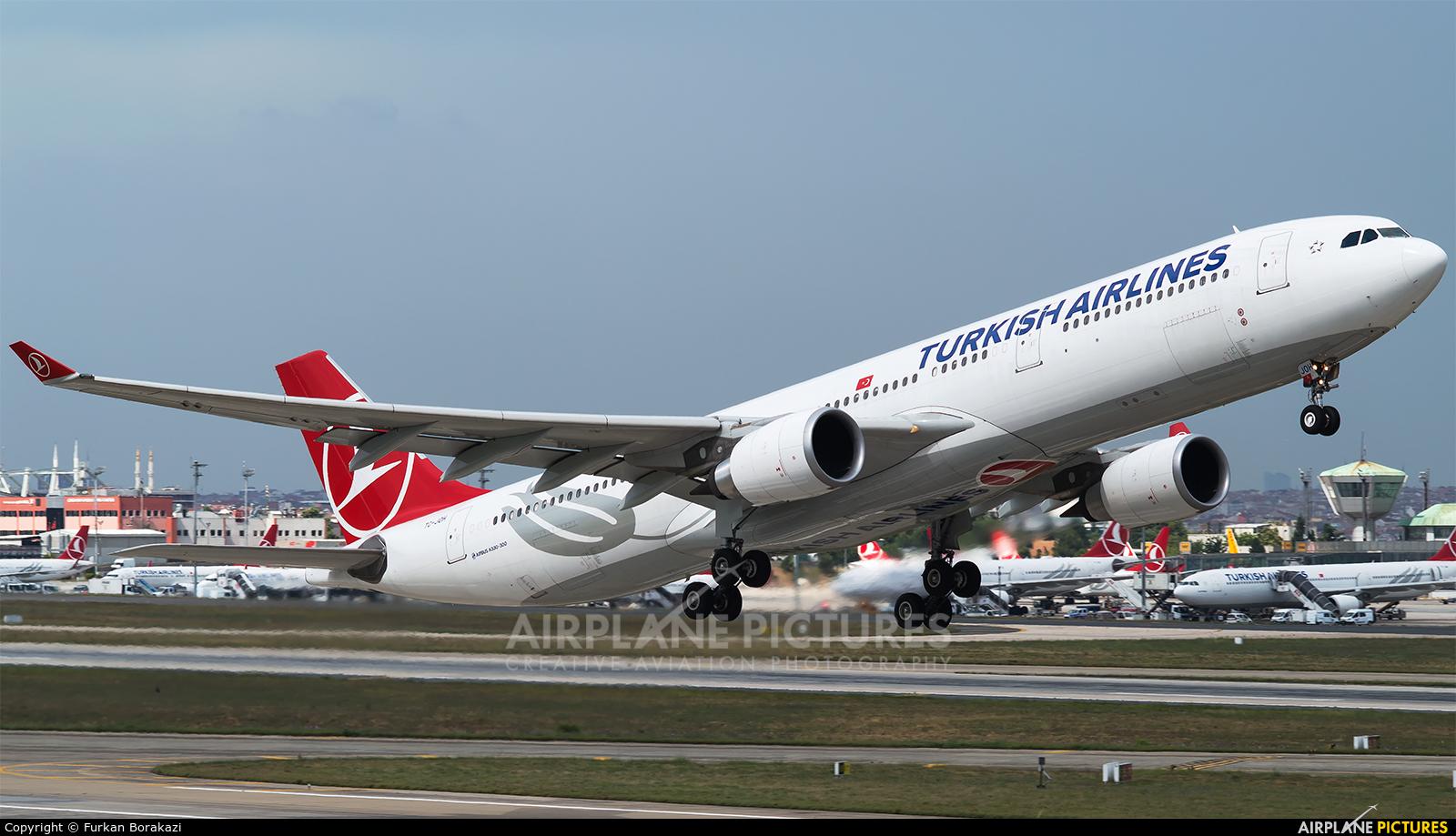 Turkish Airlines TC-JOH aircraft at Istanbul - Ataturk