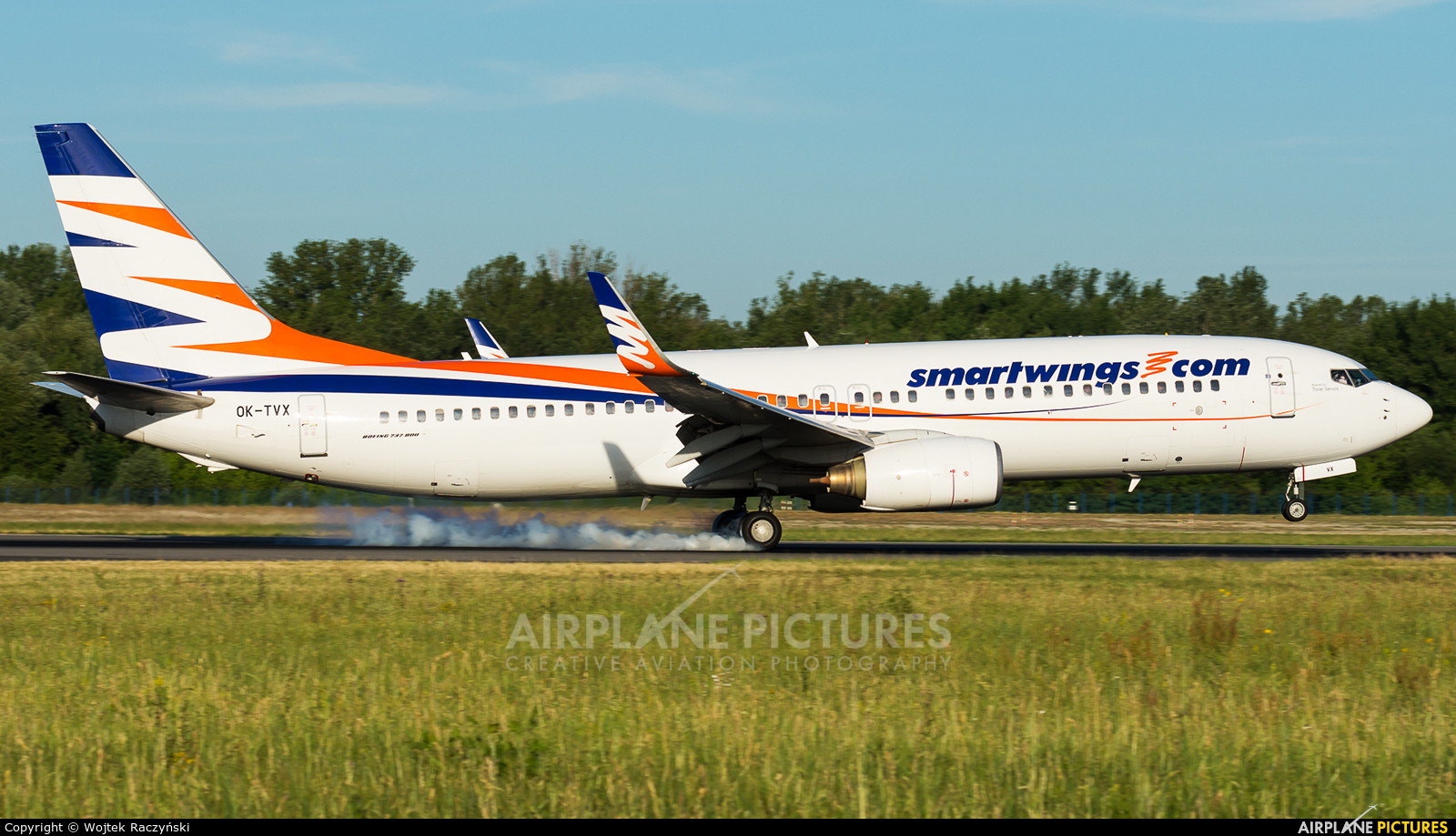 SmartWings OK-TVX aircraft at Warsaw - Frederic Chopin