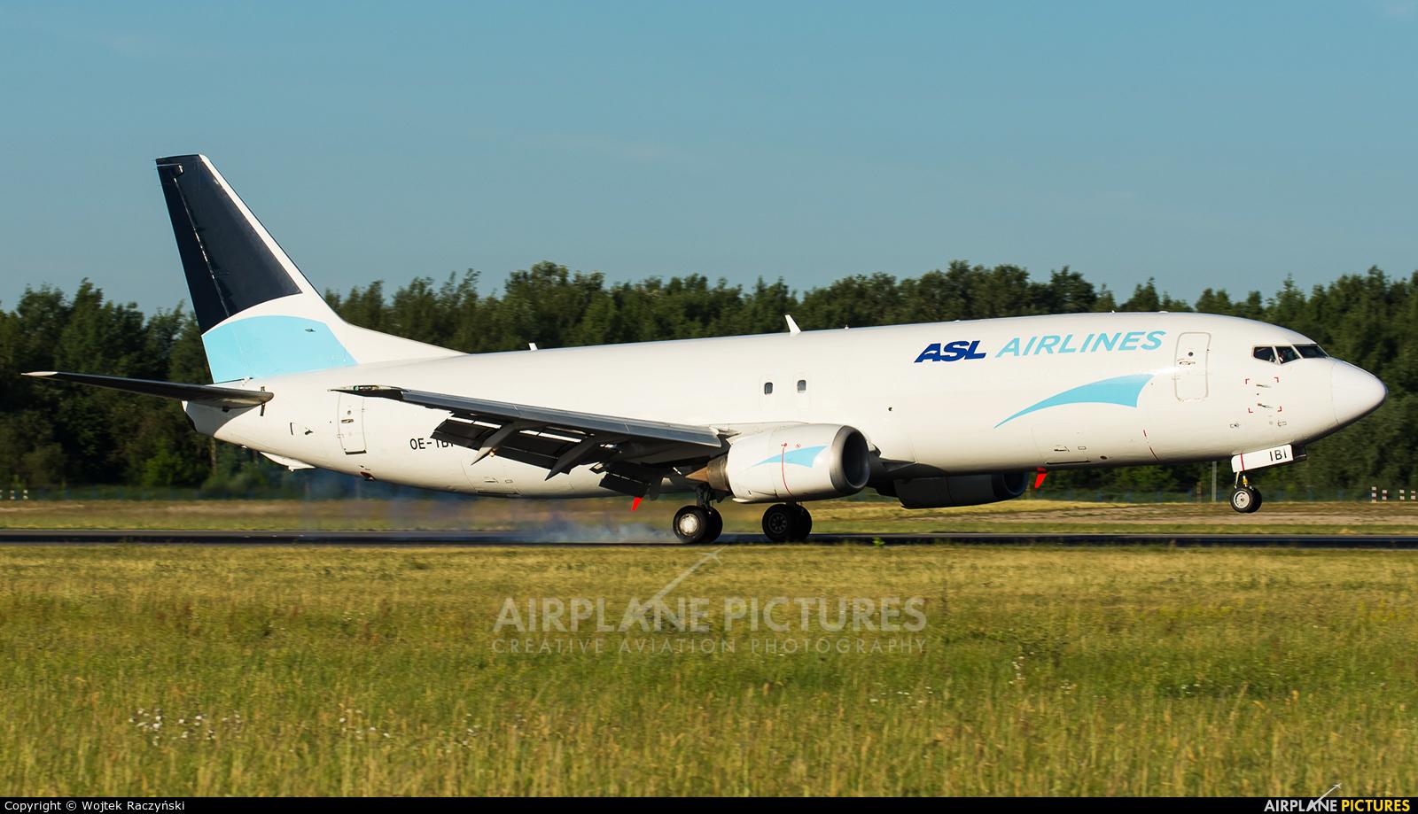 ASL Airlines Belgium OE-IBI aircraft at Warsaw - Frederic Chopin
