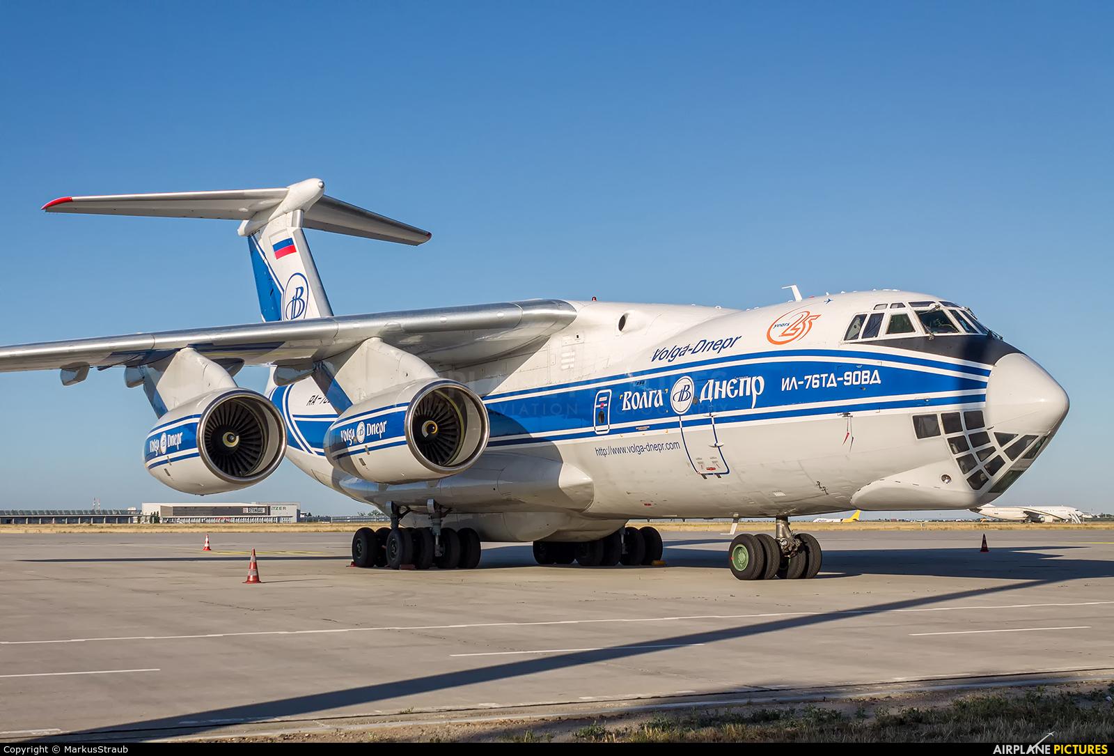 Volga Dnepr Airlines RA-76951 aircraft at Leipzig - Halle