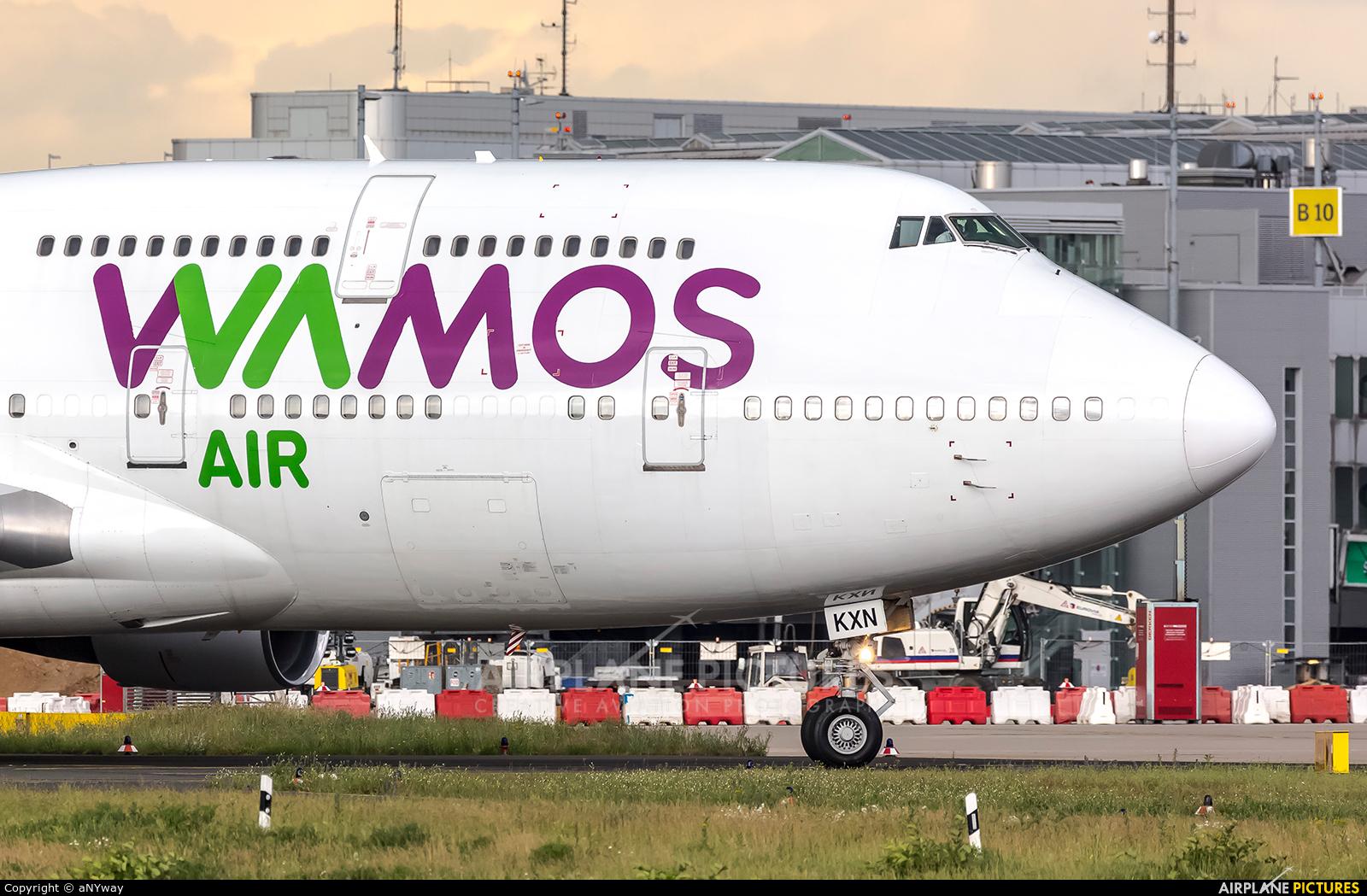 Wamos Air EC-KXN aircraft at Düsseldorf