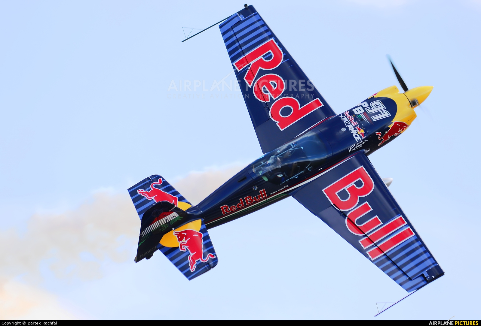 Red Bull N806CR aircraft at Nowy Targ
