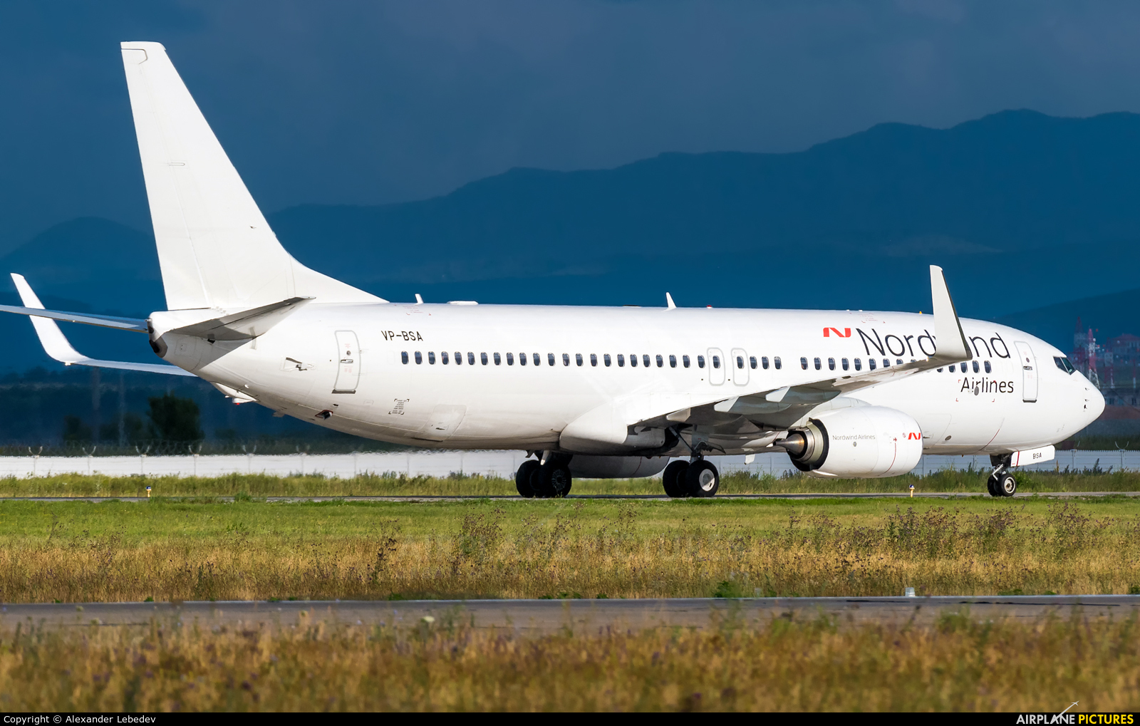 Nordwind Airlines VP-BSA aircraft at Undisclosed Location