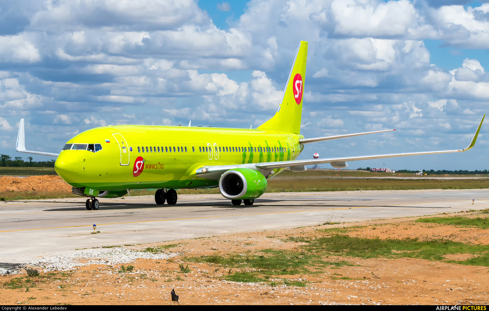 S7 Airlines VQ-BRK aircraft at Undisclosed Location