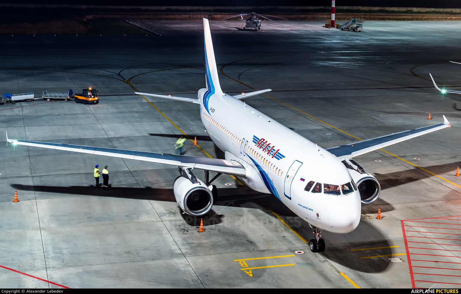 Yamal Airlines VP-BCN aircraft at Undisclosed Location