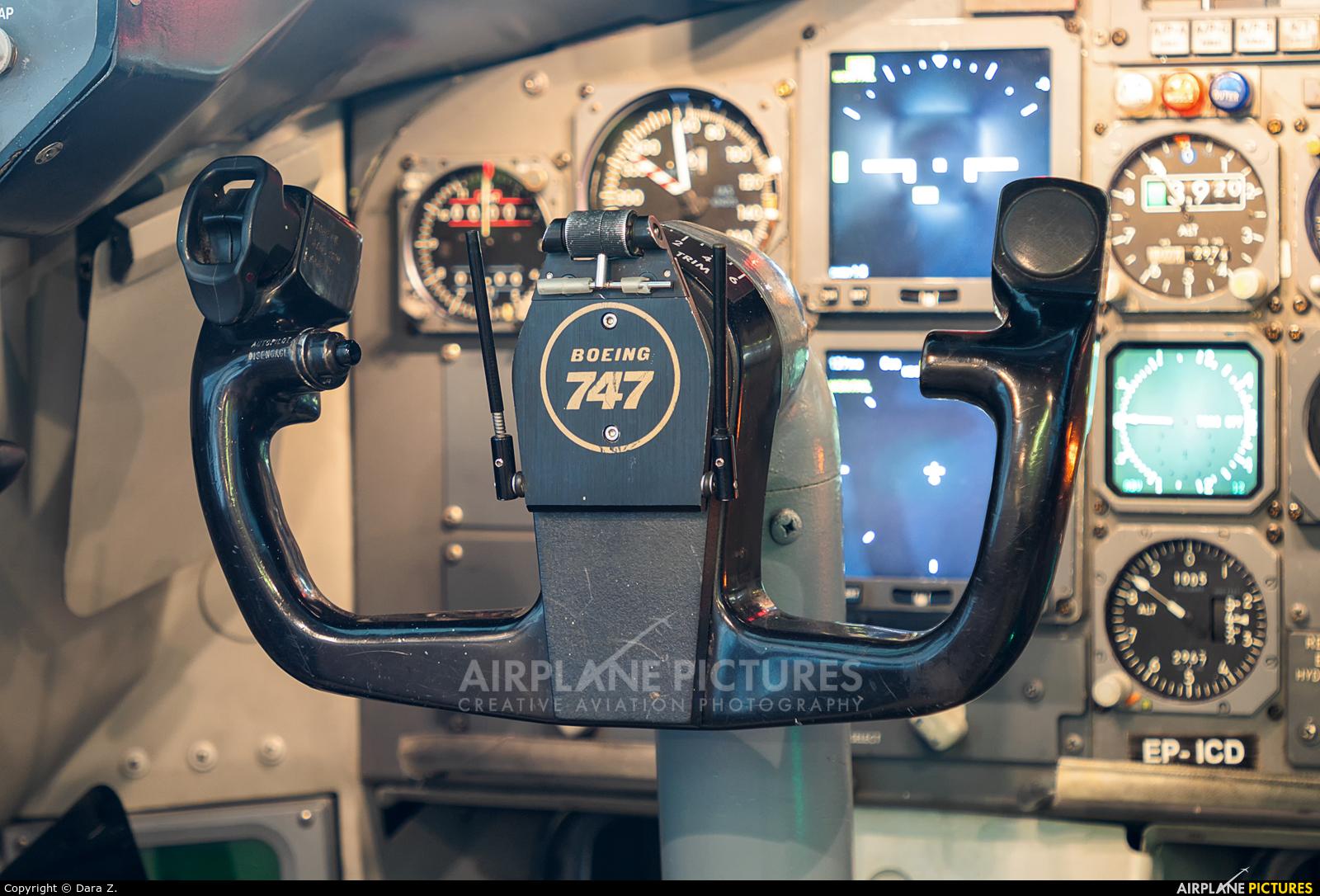 Iran Air Cargo EP-ICD aircraft at Tehran - Mehrabad Intl
