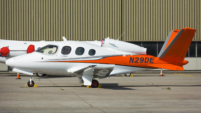 N29DE - Private Cirrus Vision SF50