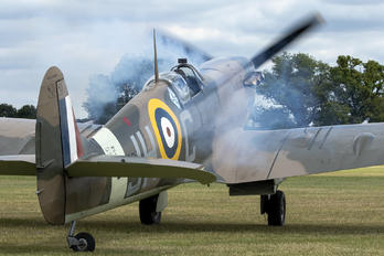 G-MKVB - Historic Aircraft Collection Supermarine Spitfire LF.Vb
