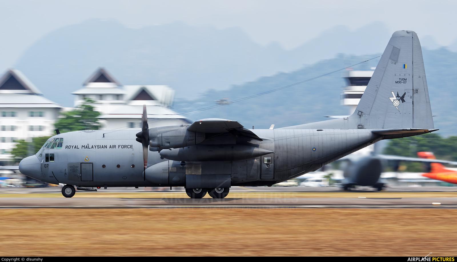 Malaysia - Air Force M30-07 aircraft at Langkawi