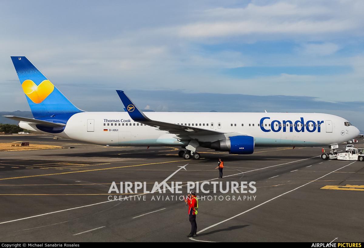 Condor D-ABUI aircraft at San Jose - Juan Santamaría Intl