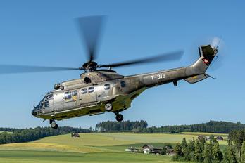 T-319 - Switzerland - Air Force Aerospatiale AS332 Super Puma