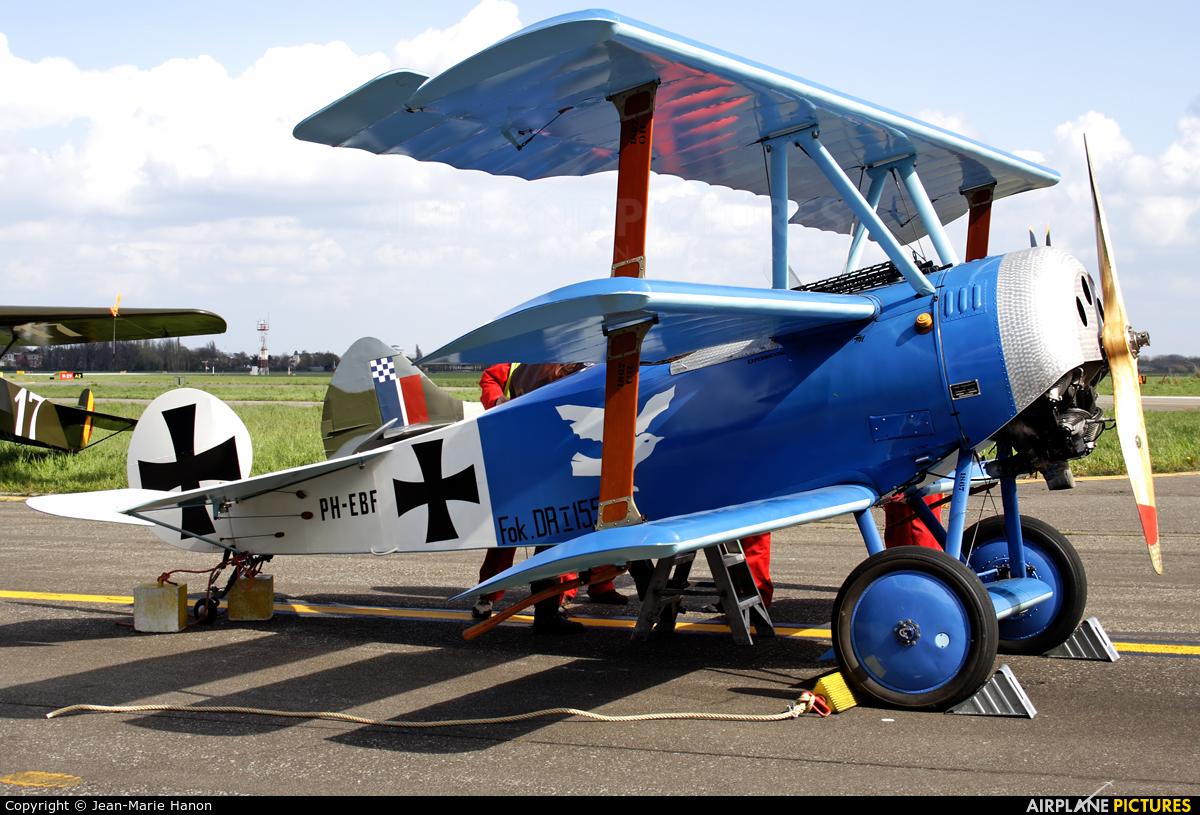 Netherlands-Royal AF Historic Flight PH-EBF aircraft at Antwerp - Deurne