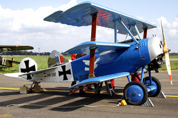 PH-EBF - Netherlands-Royal AF Historic Flight Fokker DR.1 Triplane (replica)