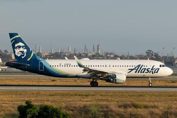 N286VA - Alaska Airlines Airbus A320