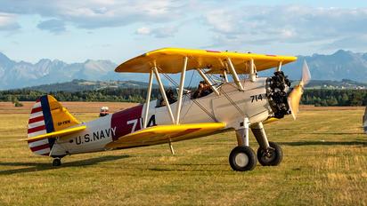 SP-YWW - Private Boeing Stearman, Kaydet (all models)
