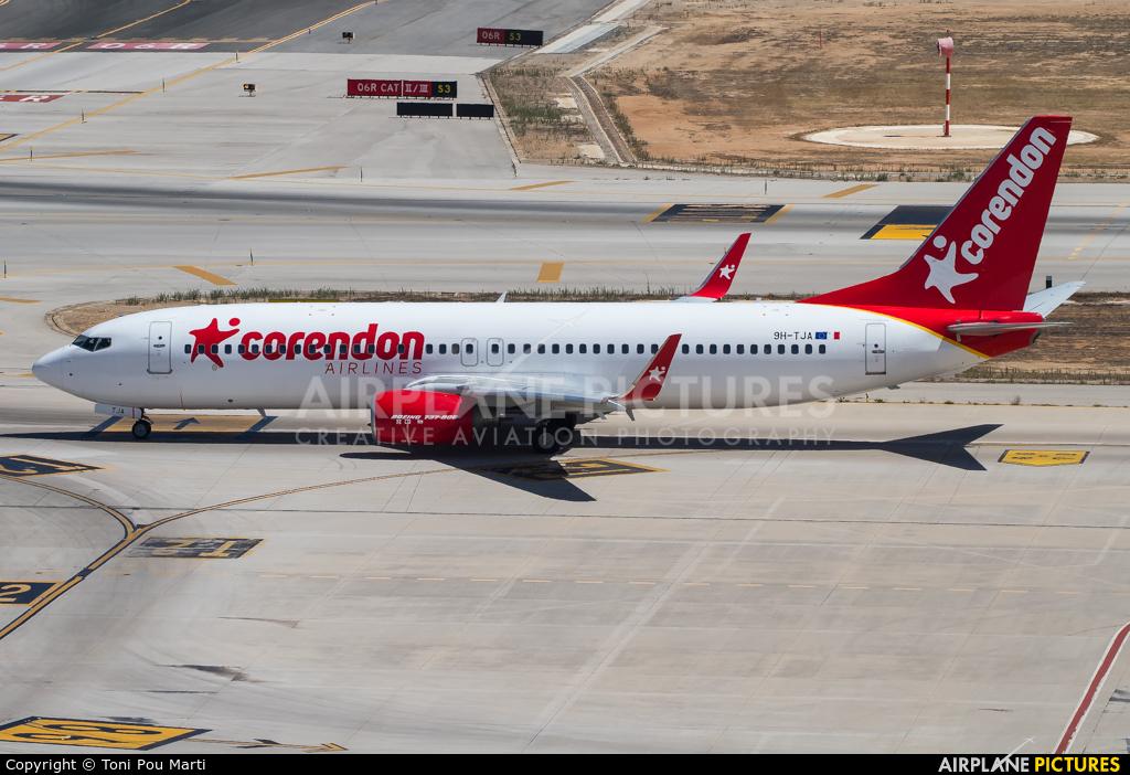 Corendon Airlines 9H-TJA aircraft at Palma de Mallorca