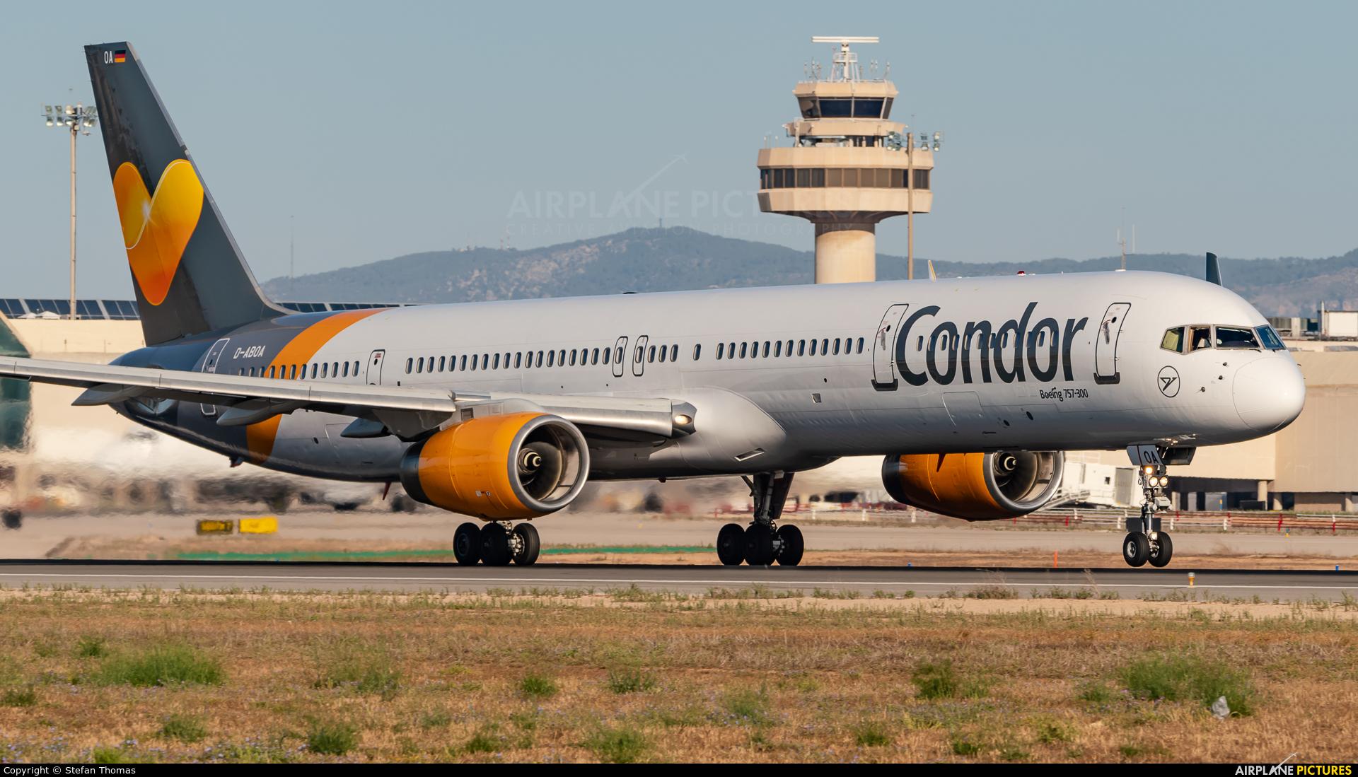 Condor D-ABOA aircraft at Palma de Mallorca