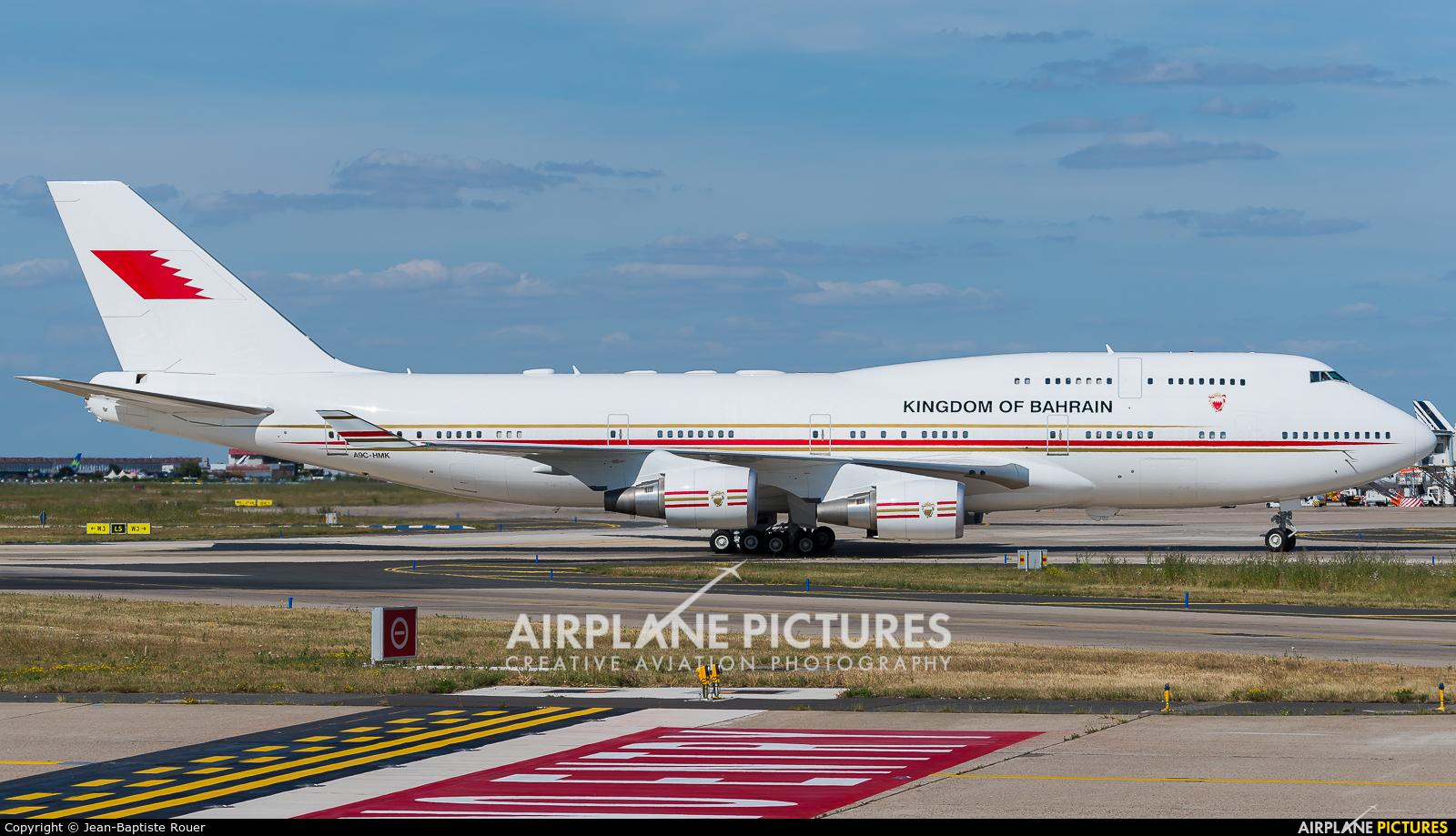 Bahrain Amiri Flight A9C-HMK aircraft at Paris - Orly