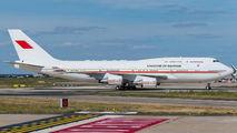 Rare visit of Bahrain Amiri B744 to Paris title=