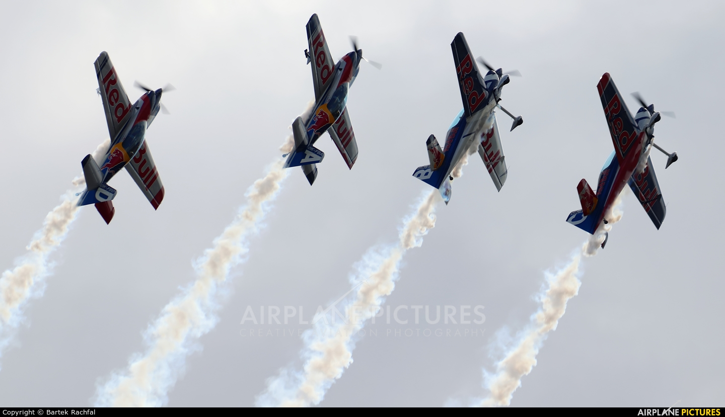 The Flying Bulls : Aerobatics Team OK-FBA aircraft at Nowy Targ
