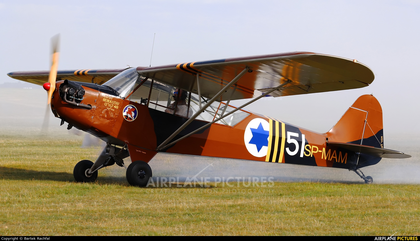 Private SP-MAM aircraft at Nowy Targ