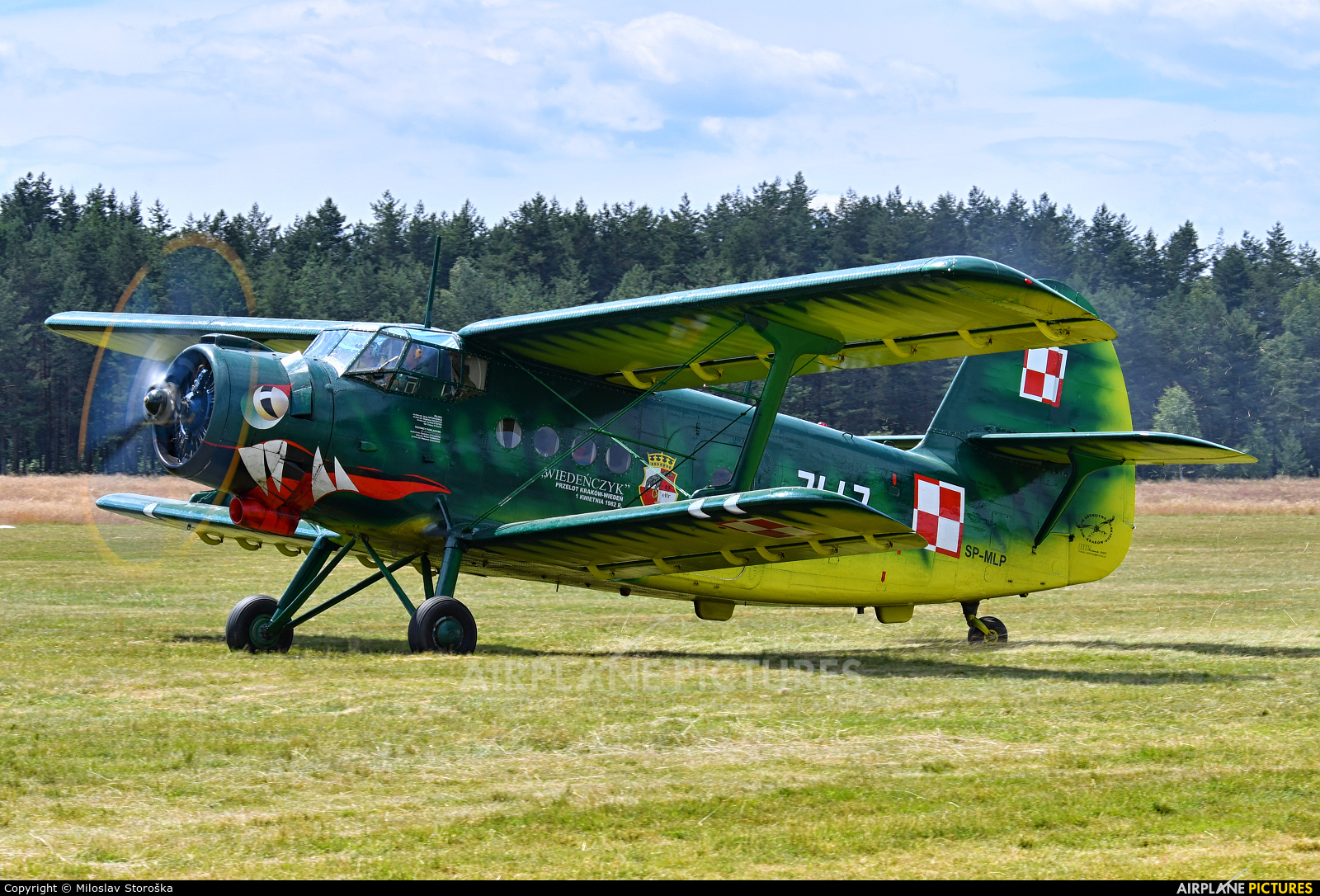 Museum of Polish Aviation SP-MLP aircraft at Nowy Targ