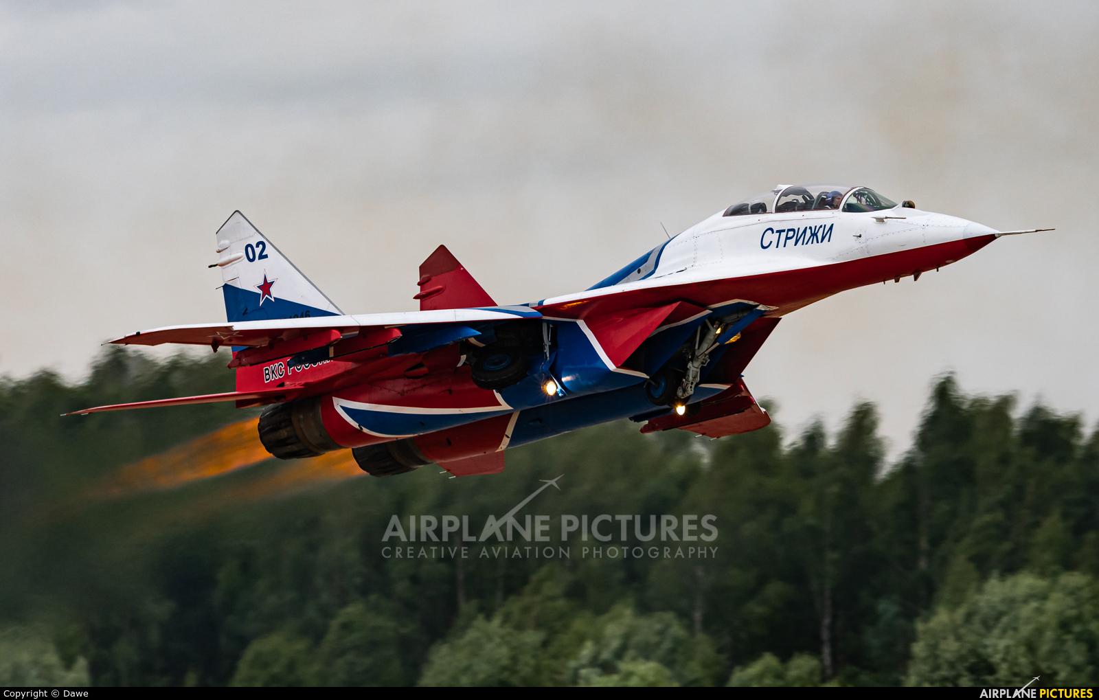 """Russia - Air Force """"Strizhi"""" RF-91946 aircraft at Kubinka"""