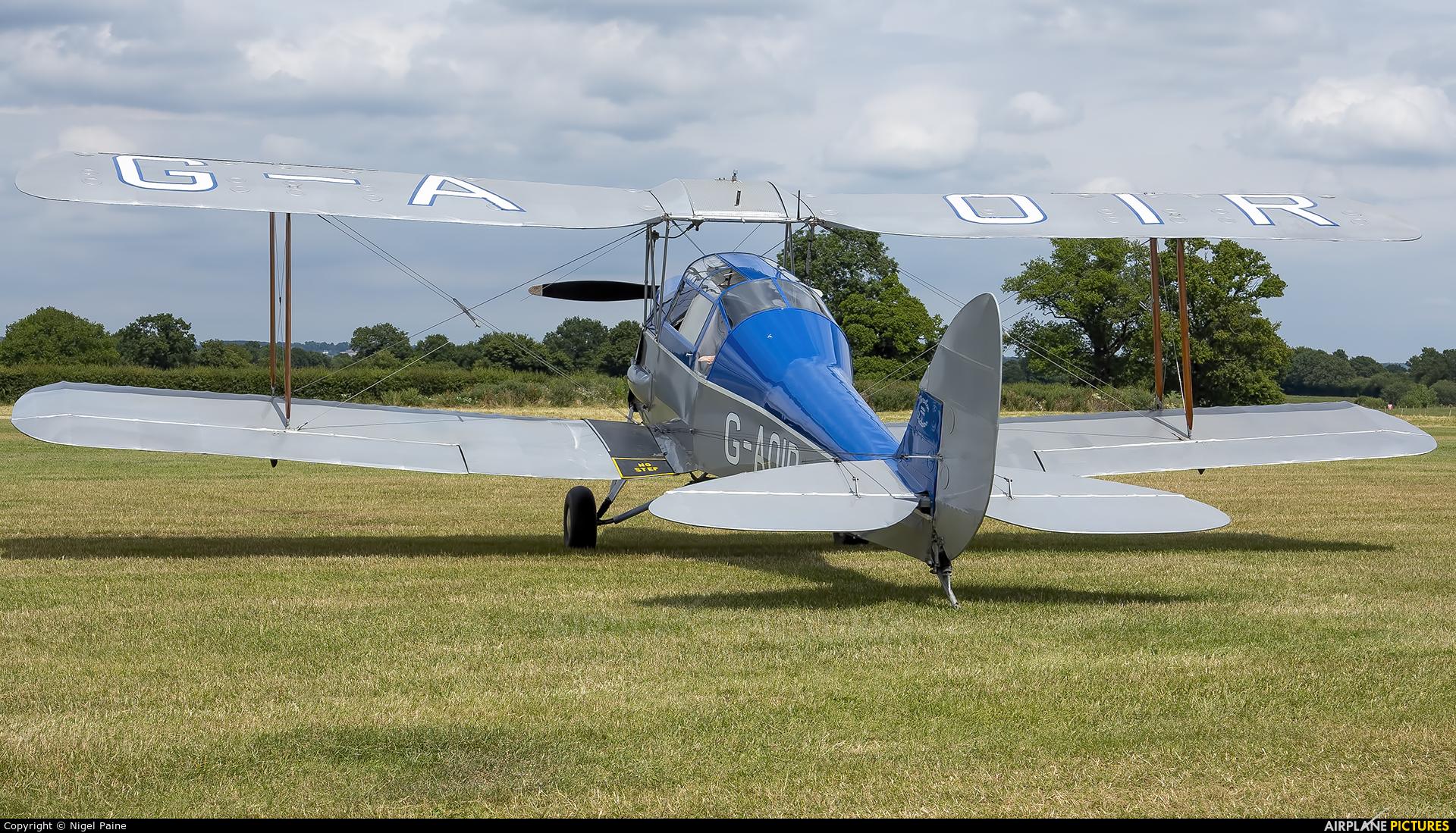 Aero Legends G-AOIR aircraft at Lashenden / Headcorn