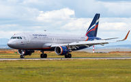 VP-BTA - Aeroflot Airbus A320 aircraft