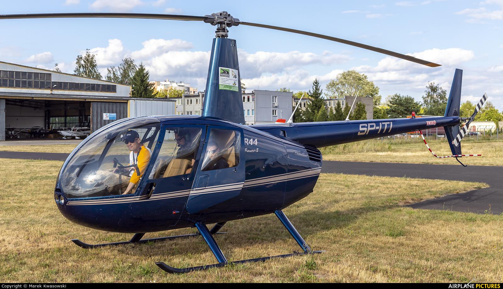 Private SP-ITI aircraft at Warsaw - Babice
