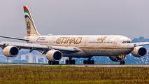 A6-EHE - Etihad Airways Airbus A340-600 aircraft