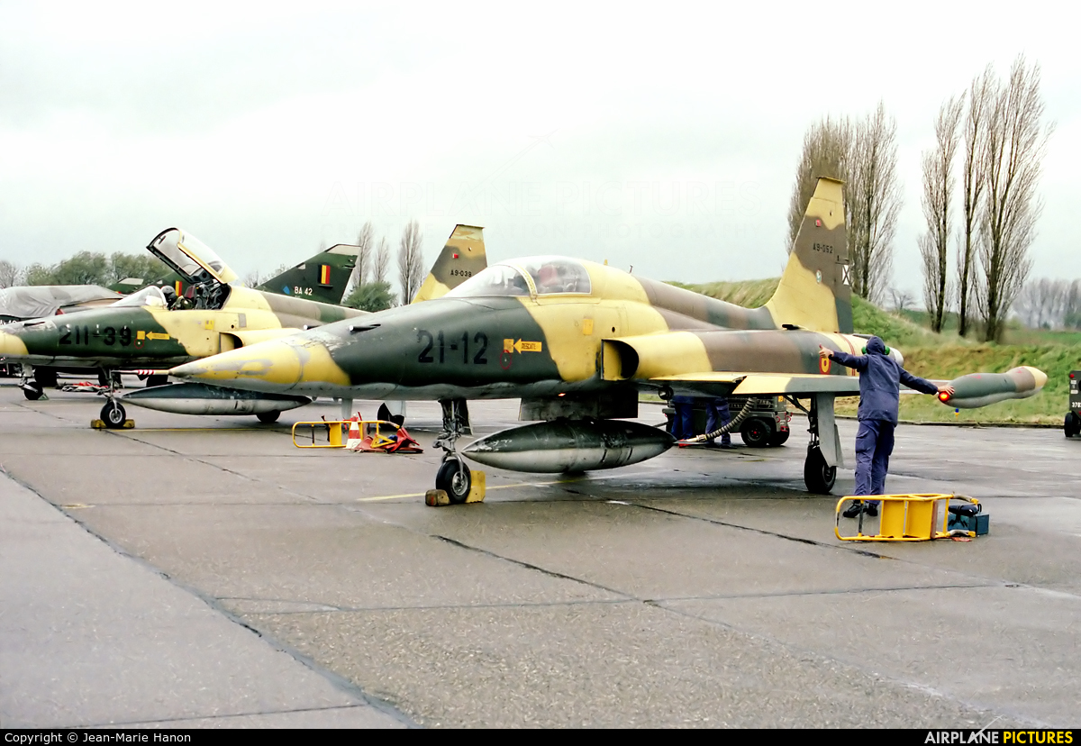 Spain - Air Force A.9-052 aircraft at Liège-Bierset