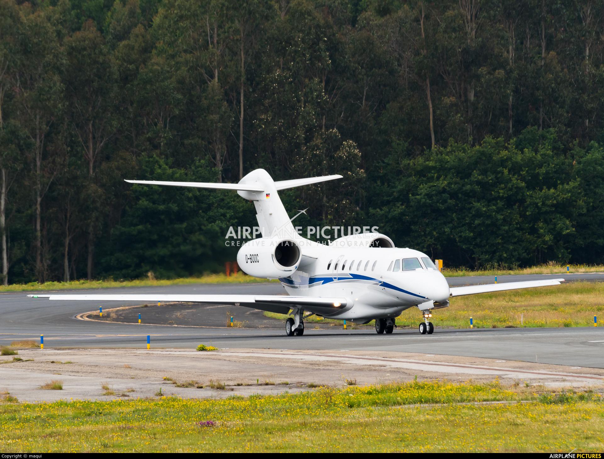 Air X D-BOOC aircraft at Santiago de Compostela