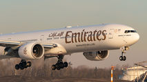 A6-EQE - Emirates Airlines Boeing 777-300ER aircraft