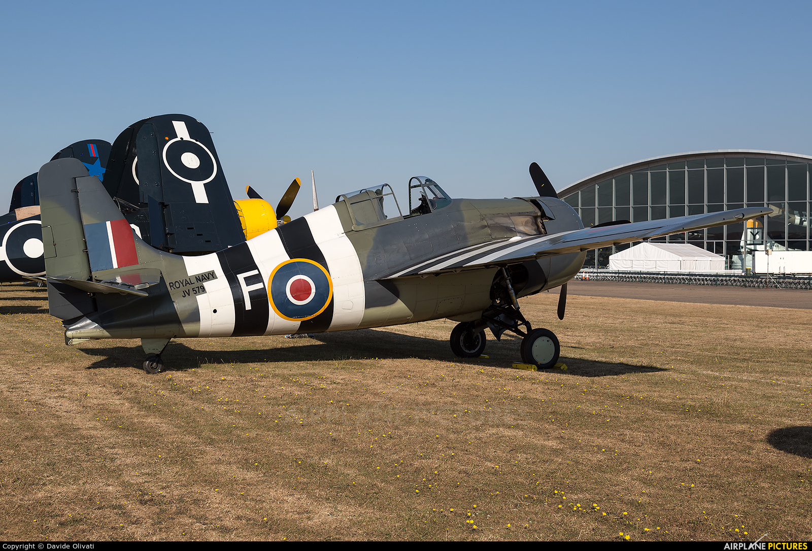 The Fighter Collection G-RUMW aircraft at Duxford