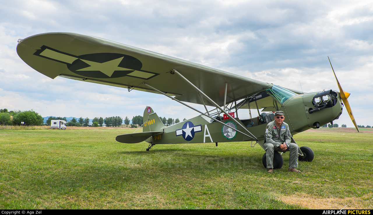 Private SP-AFY aircraft at Nowy Targ