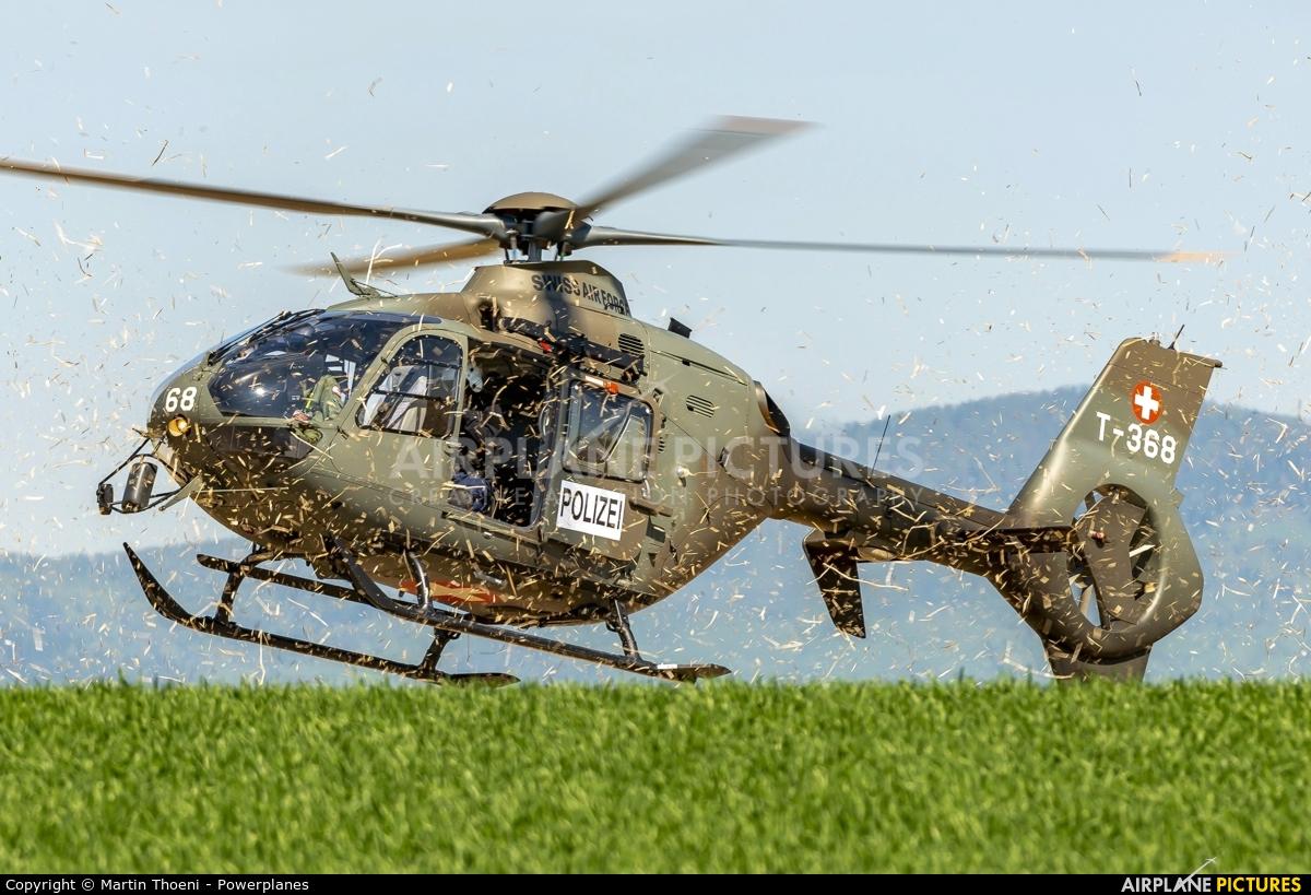 Switzerland - Air Force T-368 aircraft at Off Airport - Pfaffnau